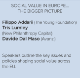 Social Value in Europe