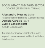 social impact and third sector coops